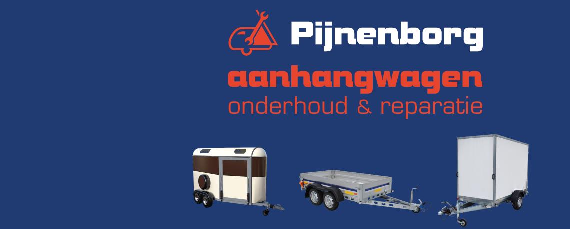 NIEUW Pijnenborg Aanhangwagen techniek